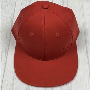 Lululemon on the fly ball cap in cynn rust red